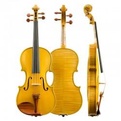Christina violin V06W hand made ebony accessories high grade solo violin, graded instrument