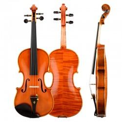 Christina Violin V06A Handmade Maple flamed Ebony Upscale Solo Violin, Grading musical instrument