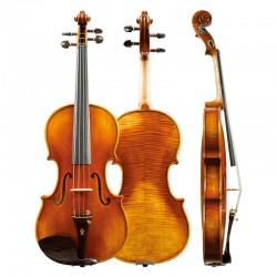 Christina violin V06D hand made ebony accessories high grade solo violin, graded instrument